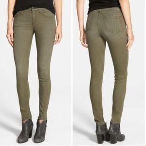 Rag & bone skinny jeans army green